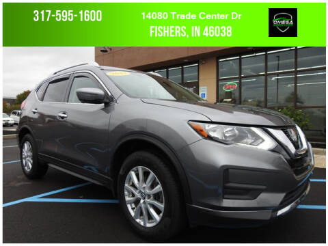 2017 Nissan Rogue for sale at Omega Autosports of Fishers in Fishers IN