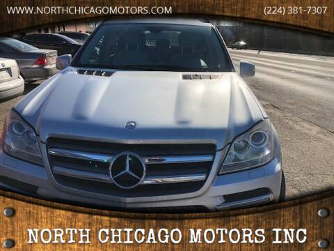2012 Mercedes-Benz GL-Class for sale at NORTH CHICAGO MOTORS INC in North Chicago IL
