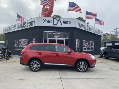 2017 Mitsubishi Outlander for sale at Direct Auto in D'Iberville MS