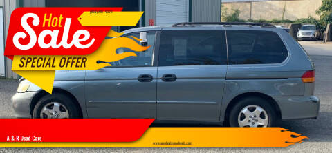 2002 Honda Odyssey for sale at A & R Used Cars in Clayton NJ