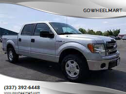 2013 Ford F-150 for sale at GOWHEELMART in Leesville LA