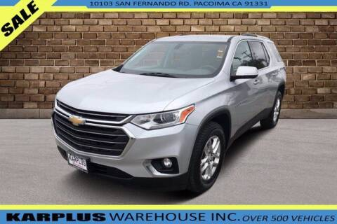 2018 Chevrolet Traverse for sale at Karplus Warehouse in Pacoima CA