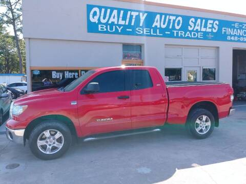 2007 Toyota Tundra for sale at QUALITY AUTO SALES OF FLORIDA in New Port Richey FL