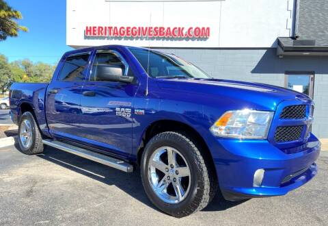 2017 RAM Ram Pickup 1500 for sale at Heritage Automotive Sales in Columbus in Columbus IN