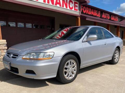 2002 Honda Accord for sale at Affordable Auto Sales in Cambridge MN