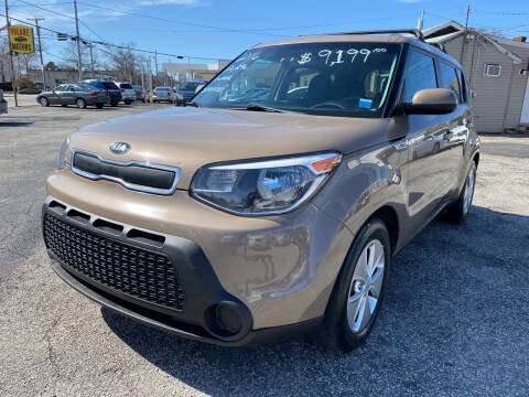2016 Kia Soul for sale at Volare Motors in Cranston RI