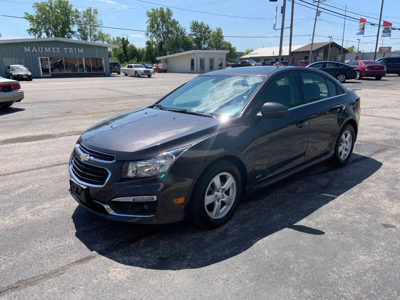 2016 Chevrolet Cruze Limited for sale at Bruce Kunesh Auto Sales Inc in Defiance OH