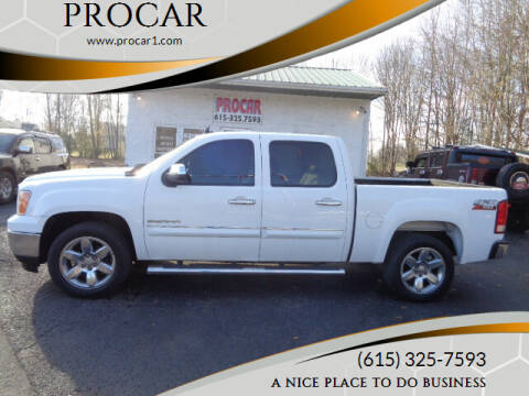 2012 GMC Sierra 1500 for sale at PROCAR LLC in Portland TN