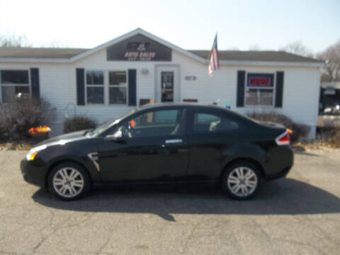 2008 Ford Focus for sale at R & L AUTO SALES in Mattawan MI