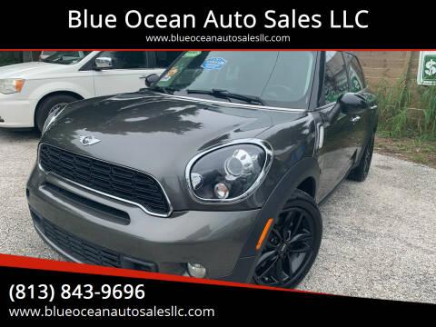 2013 MINI Countryman for sale at Blue Ocean Auto Sales LLC in Tampa FL