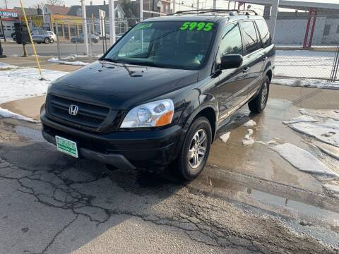 2005 Honda Pilot for sale at Barnes Auto Group in Chicago IL