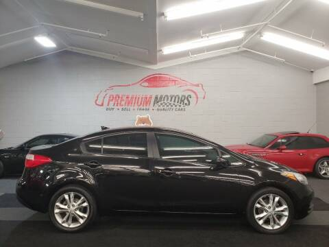 2015 Kia Forte for sale at Premium Motors in Villa Park IL