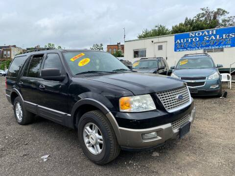 2005 Ford Expedition for sale at Noah Auto Sales in Philadelphia PA
