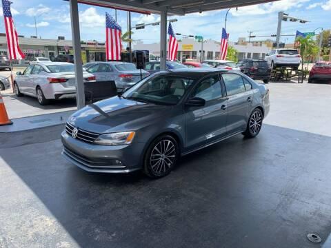 2016 Volkswagen Jetta for sale at American Auto Sales in Hialeah FL