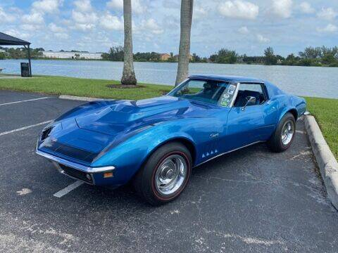 1969 Chevrolet Corvette for sale at Suncoast Sports Cars and Exotics in West Palm Beach FL