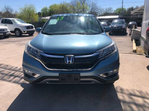 2015 Honda CR-V for sale at SOUTHWAY MOTORS in Houston TX