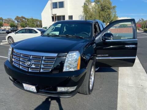 2008 Cadillac Escalade for sale at Coast Auto Motors in Newport Beach CA