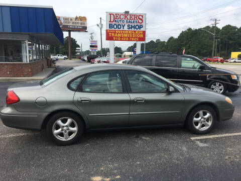 2002 Ford Taurus for sale at Deckers Auto Sales Inc in Fayetteville NC