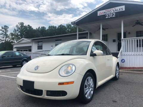2009 Volkswagen New Beetle for sale at CVC AUTO SALES in Durham NC