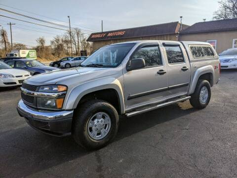 2008 Chevrolet Colorado for sale at Worley Motors in Enola PA