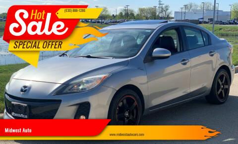 2012 Mazda MAZDA3 for sale at Midwest Auto in Naperville IL