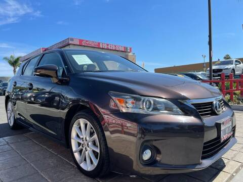 2013 Lexus CT 200h for sale at CARCO SALES & FINANCE in Chula Vista CA