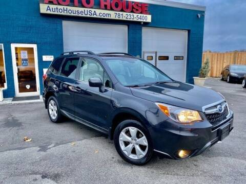 2016 Subaru Forester for sale at Saugus Auto Mall in Saugus MA