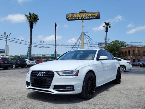 2015 Audi A4 for sale at A MOTORS SALES AND FINANCE in San Antonio TX