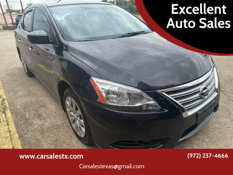 2013 Nissan Sentra for sale at Excellent Auto Sales in Grand Prairie TX
