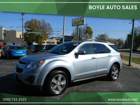 2014 Chevrolet Equinox for sale at Boyle Auto Sales in Appleton WI