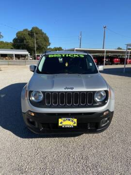 2017 Jeep Renegade for sale at Bostick's Auto & Truck Sales LLC in Brownwood TX