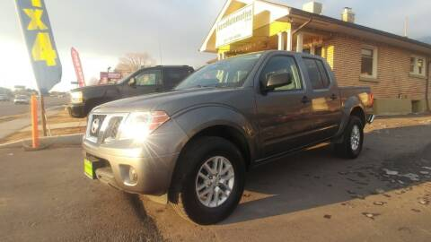 2016 Nissan Frontier for sale at Everett Automotive Group in Pleasant Grove UT