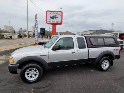 2007 Ford Ranger for sale at Ford's Auto Sales in Kingsport TN