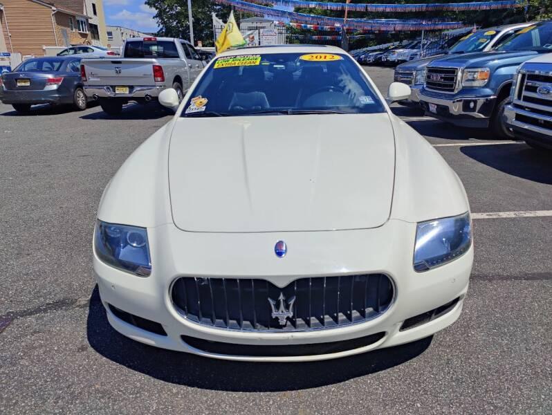 2012 Maserati Quattroporte for sale at Elmora Auto Sales in Elizabeth NJ