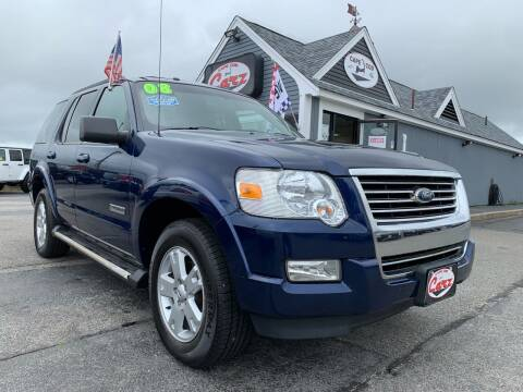 2008 Ford Explorer for sale at Cape Cod Carz in Hyannis MA