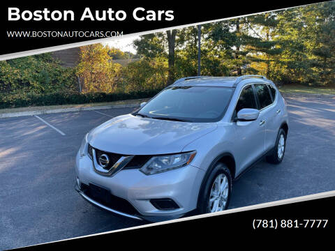 2015 Nissan Rogue for sale at Boston Auto Cars in Dedham MA