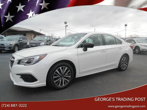 2018 Subaru Legacy for sale at GEORGE'S TRADING POST in Scottdale PA