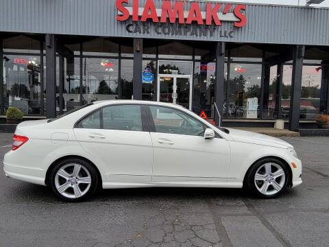 2010 Mercedes-Benz C-Class for sale at Siamak's Car Company llc in Salem OR