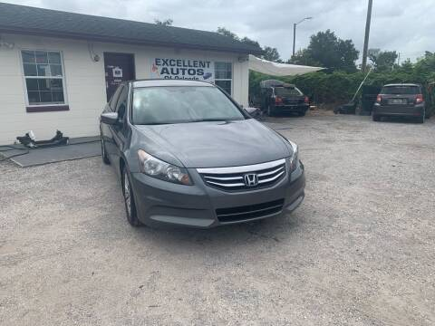 2012 Honda Accord for sale at Excellent Autos of Orlando in Orlando FL