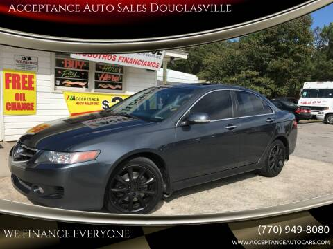 2006 Acura TSX for sale at Acceptance Auto Sales Douglasville in Douglasville GA