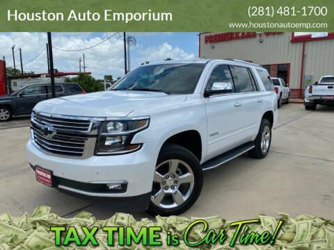 2016 Chevrolet Tahoe for sale at Houston Auto Emporium in Houston TX