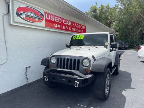 2009 Jeep Wrangler for sale at Used Car Factory Sales & Service in Port Charlotte FL