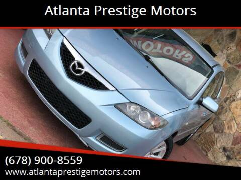 2007 Mazda MAZDA3 for sale at Atlanta Prestige Motors in Decatur GA