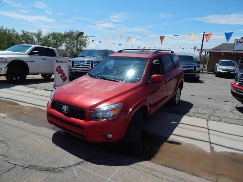 2007 Toyota RAV4 for sale at Dave's discount auto sales Inc in Clearfield UT