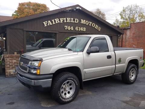 2004 Chevrolet Silverado 1500 for sale at Fairfield Motors in Fort Wayne IN