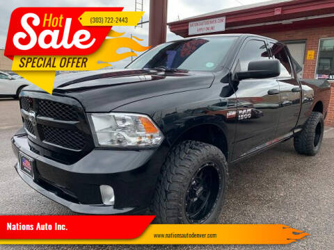 2014 RAM Ram Pickup 1500 for sale at Nations Auto Inc. in Denver CO