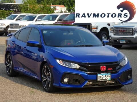 2017 Honda Civic for sale at RAVMOTORS in Burnsville MN
