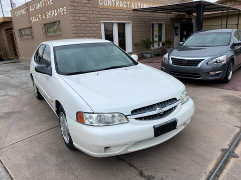 2001 Nissan Altima for sale at CONTRACT AUTOMOTIVE in Las Vegas NV