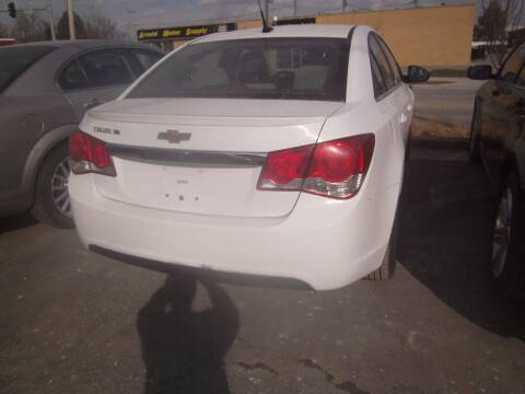 2011 Chevrolet Cruze for sale at MITRISIN MOTORS INC in Oskaloosa IA