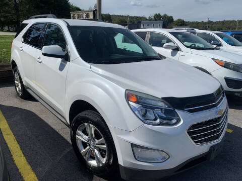 2016 Chevrolet Equinox for sale at BURNWORTH AUTO INC in Windber PA